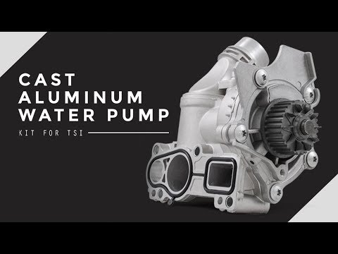 FIX YOUR VW/AUDI TSI WATER PUMP FOR GOOD!