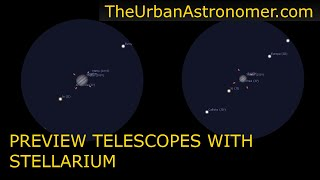 Comparing Telescopes with Stel…
