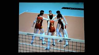Women's Volleyball Championship (Ps2) Japan vs China Part2