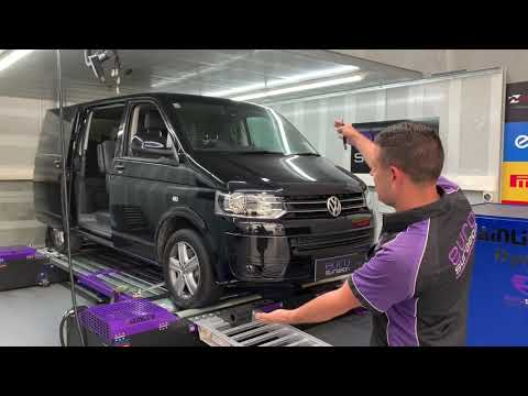 VW T5 180hp 2.0Tdi Dyno Tuning. The Transporter, Trade Van And Family Hauler With Power!
