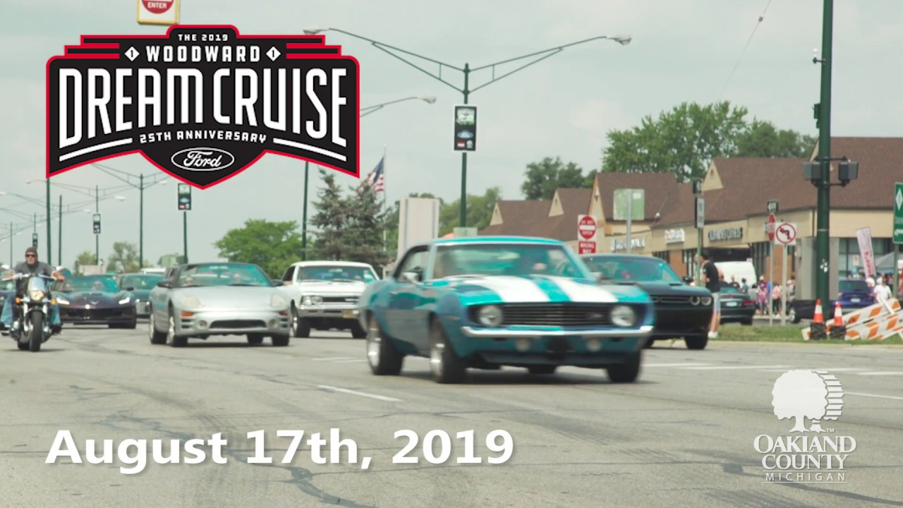 Woodward Dream Cruise 2020.Woodward Dream Cruise 2019