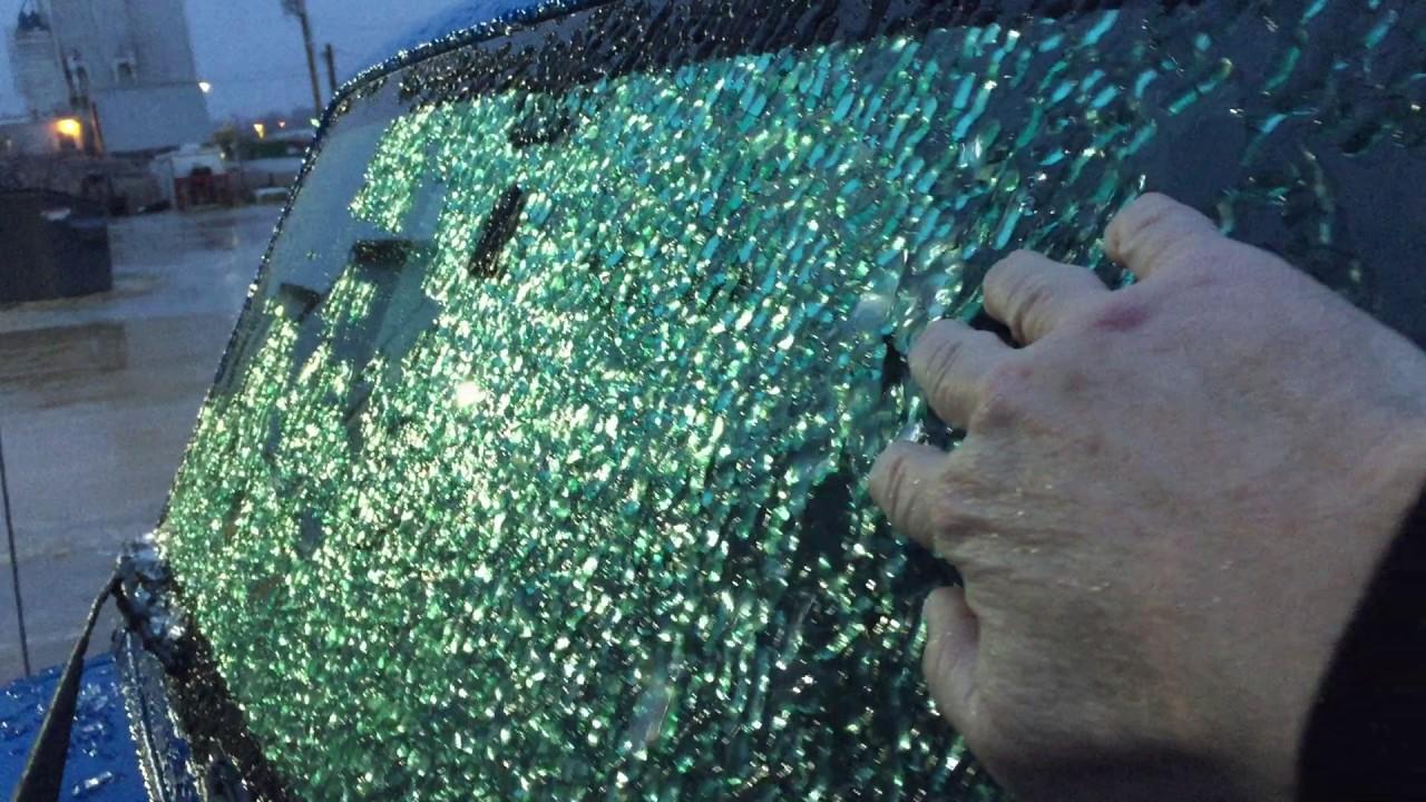 how to get ice of windsheild