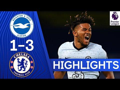 Brighton 1-3 Chelsea | Reece James & Kurt Zouma Goals Sink Brighton | Highlights