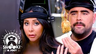 Snooki Gets Down & 'Dirty' In The Kitchen ft. Shota Nakajima | Cooking in the Crib w/ Snooki & Joey