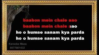 Baahon Mein Chale Aao - Karaoke - Instant Karma Version - Mahalakshmi Iyer