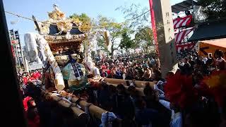 2018年 富嶋神社秋祭り。⑦ 浜田南地区
