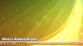 8 Dars Tavhid