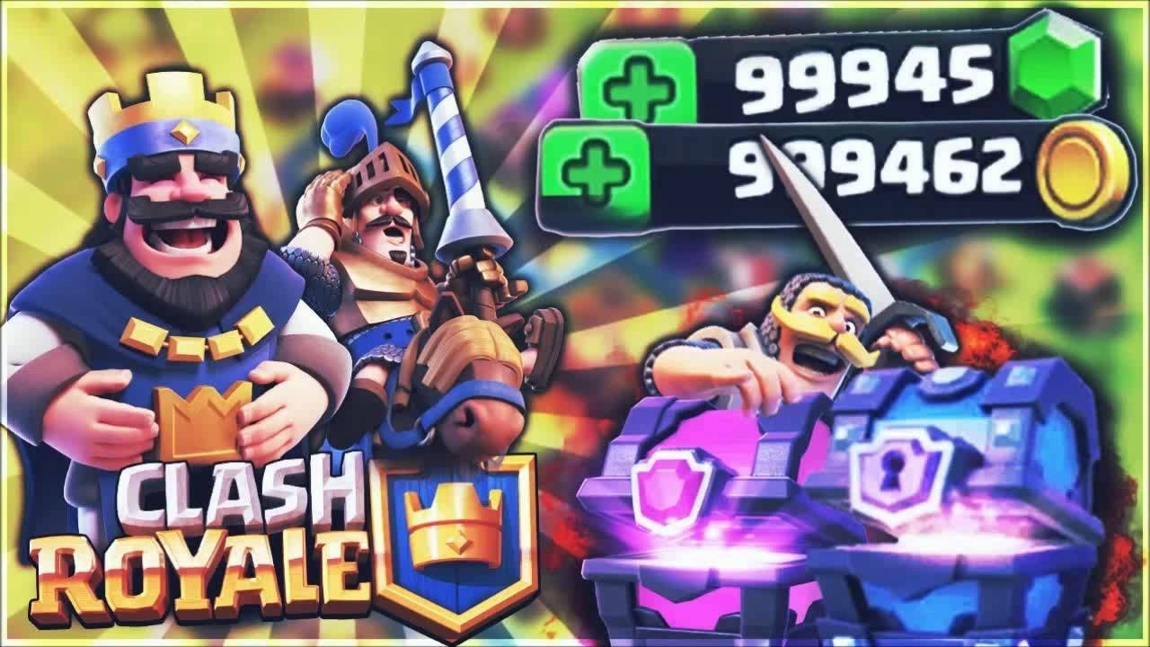 🔥 ᴺᴱᵂ HACK CLASH ROYALE MODDED APK (UNLIMITED GEMS, CHEST, MONEY,  CLANS,...) +FREE DOWNLOAD 🔥 -