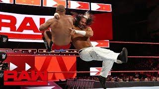 """""""Woken"""" Matt Hardy & Bray Wyatt vs. The Revival - Tag Team Eliminator Match: Raw, April 16, 2018"""