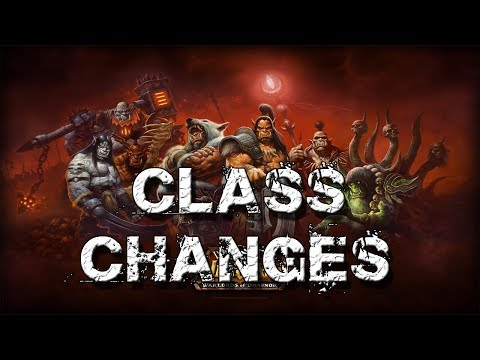 Warlords of Draenor All Class Changes
