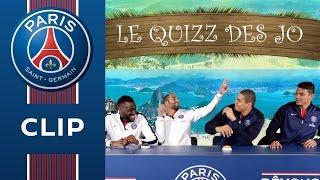 THE OLYMPICS QUIZZ : Lucas & Luc Abalo vs Thiago Silva & Daniel Narcisse