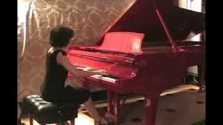 Rachmaninoff- Morceaux de Salon, Op. 10, No. 2 - Waltz-Performed by Katia Zaborskaya- Steinway Hall