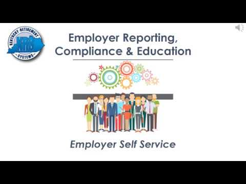 KRS Employer Reporting Official Video (Section  1) ESS tabs & navigation