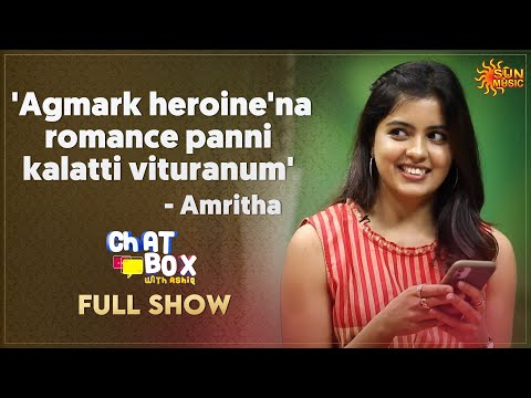 GV or U1, Amritha makes her choice   Chatbox with Ashiq - Full Show   Sun Music