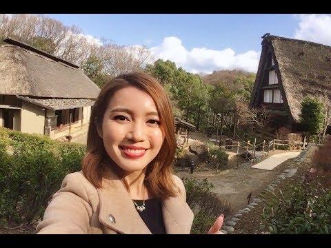 Ancient Houses at Nihon Minka-en | Tokyo Japan Vlog