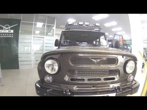 УАЗ Хантер 2017 - обзор в автосалоне.