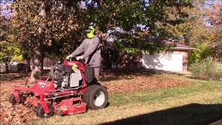 Leaf Blowing and Mulching
