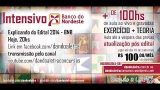 Edital Banco do Nordeste