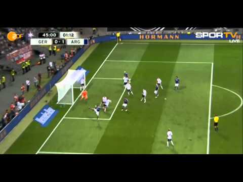 Germany |1| - |3| Argentina |All Goals & Highlights 15.08.2012|