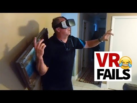 Hilarious VR Fails Compilation | 'We're Not Ready Yet!' 😂