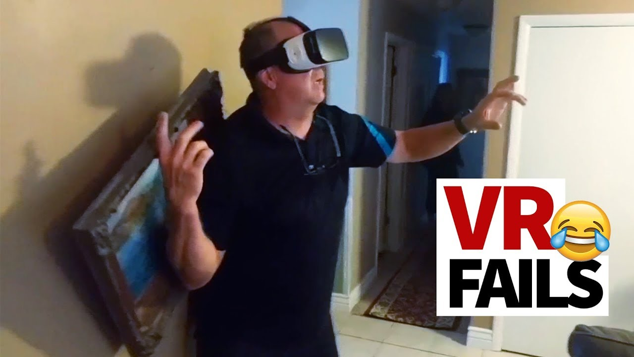 Hilarious Vr Fails Compilation We Re Not Ready Yet Youtube