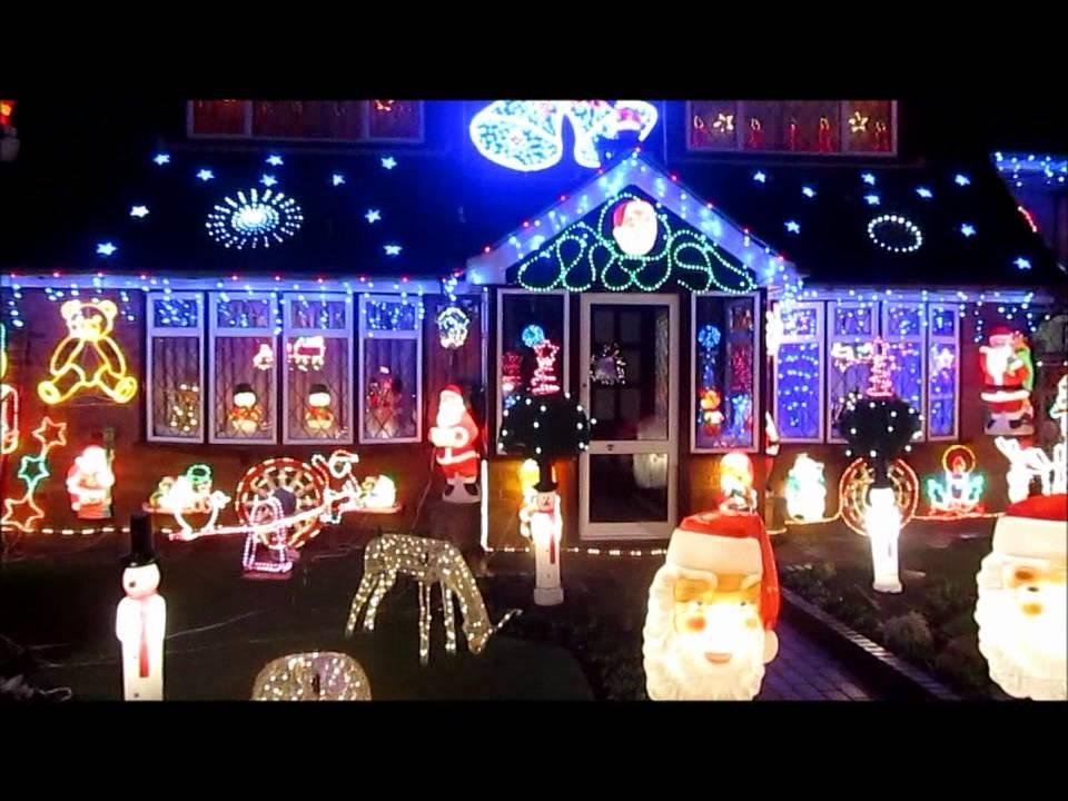 haughton christmas lights 2011 youtube