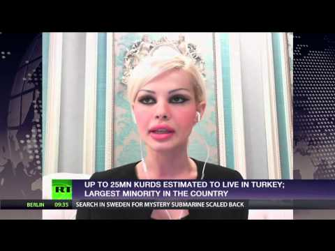 "RT ""WorldsApart"" interview analyst Ceylan Ozbudak ISIS/Kobane/PKK"