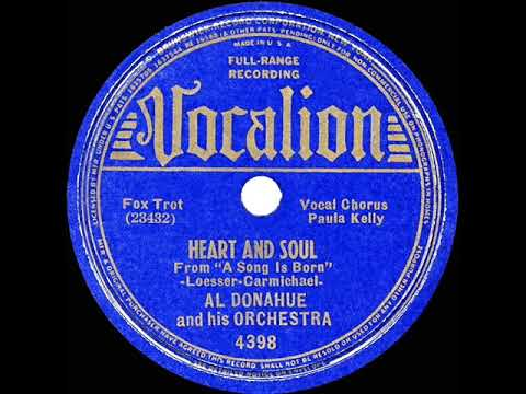 1938 Al Donahue - Heart And Soul (Paula Kelly, Vocal)