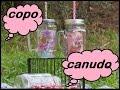 DIY:COPO CANUDO/MASON JAR/COPO DE PEDREIRO