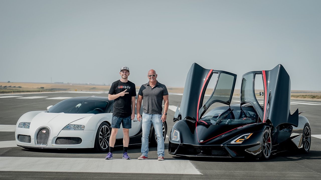 Meet The Hypercar to Dethrone all Hypercars - The SSC Tuatara vs my Bugatti Veyron