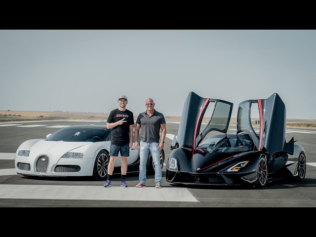 Is the SSC Tuatara as fast as they say? Racing my Bugatti Veyron.