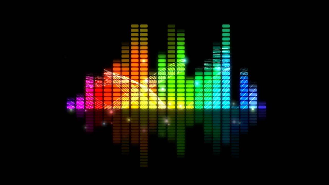 Animated Dj Wallpaper Colorful Sound Level Animation Free Youtube