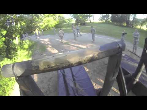 Fort Campbell's 101st Sustainment Brigade tackle Sabalauski Air Assault Obstacle Course