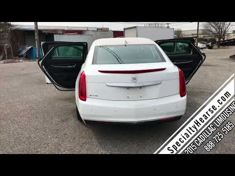 2015 CADILLAC S&S SIX DOOR USED FUNERAL LIMOUSINE