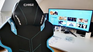 QUERSUS EVOS E301 GAMING CHAIR UPGRADE