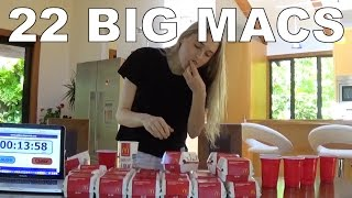 Big Mac eating challenge