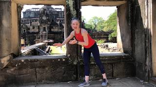 HEALTHY Travel Tips - What I forgot!  (and yes Cambodia is blazing hot)