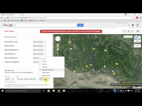 Google Map Maker : How to add & edit Place, Buisnes, Landmark & Road