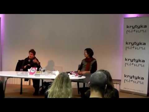 """Pro: Reclaiming Abortion Rights"" Polish premiere   Katha Pollitt, Agnieszka Graff"
