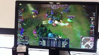 amd apu a6 5400k running league of legends fraps