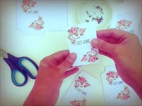 Printable Vintage Seed Packets - YouTube