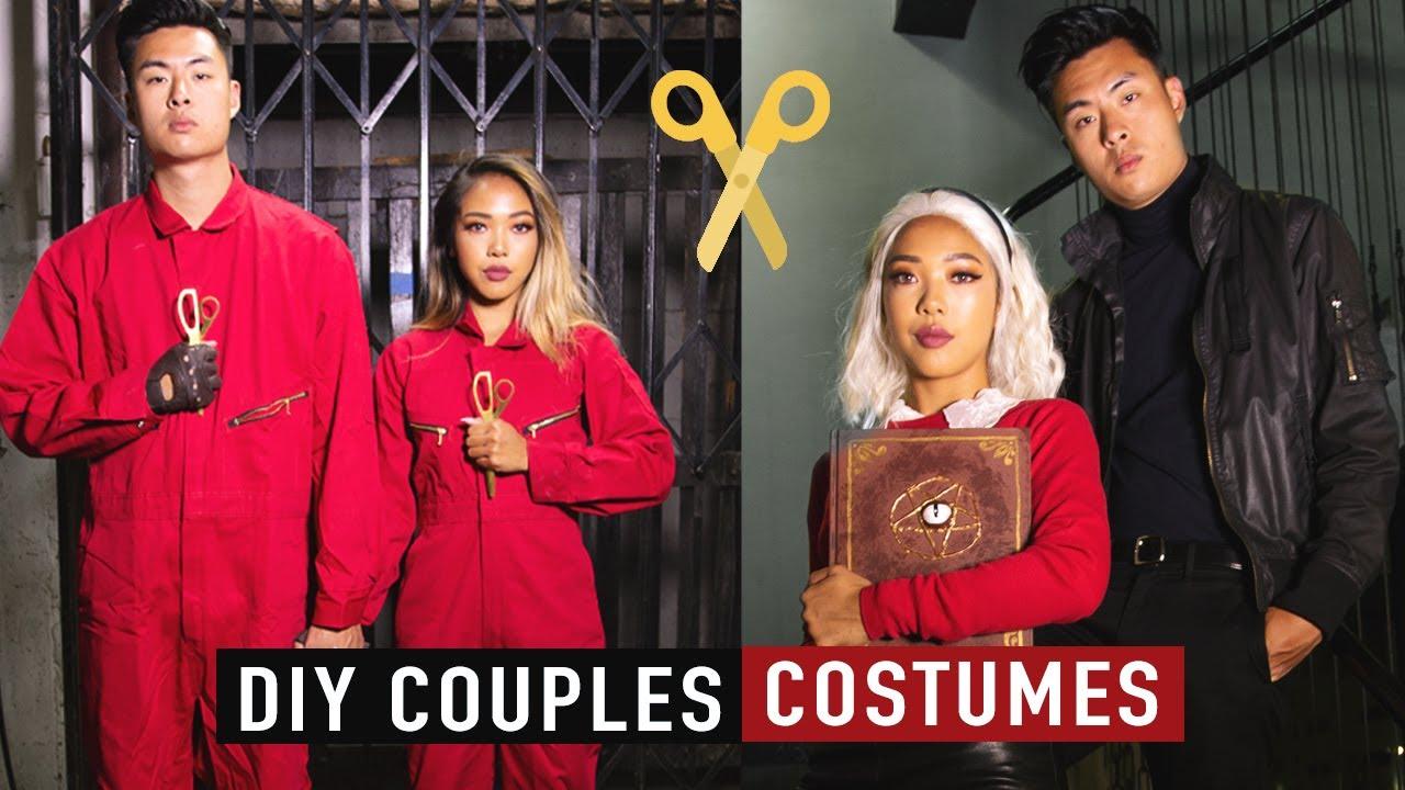 [VIDEO] - DIY Couples Halloween Costume Ideas 2019! 7