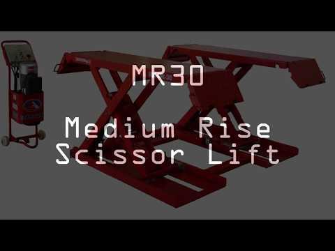 Redmount Medium Rise Scissor Lift Mobile Youtube