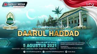 LIVE RUTINAN MAJELIS DAARUL HADDAD YOGYAKARTA  SLEMAN, 5 AGUSTUS 2021