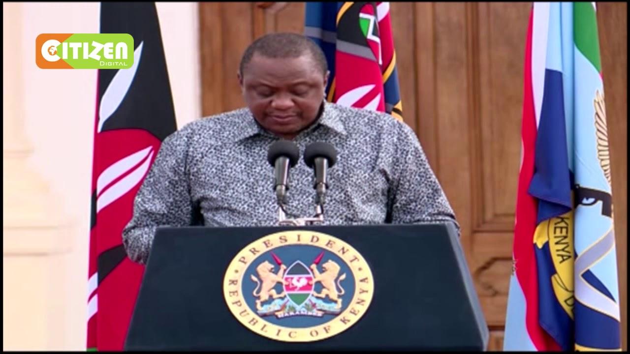 FULL SPEECH President Uhuru Kenyatta extends COVID 20 containment measures