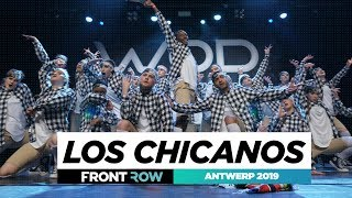 Los Chicanos    Team Division   FRONTROW   World of Dance Antwerp Qualifier 2019   #WODANT19