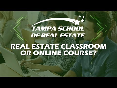 Real Estate Classroom Or Online Course Youtube