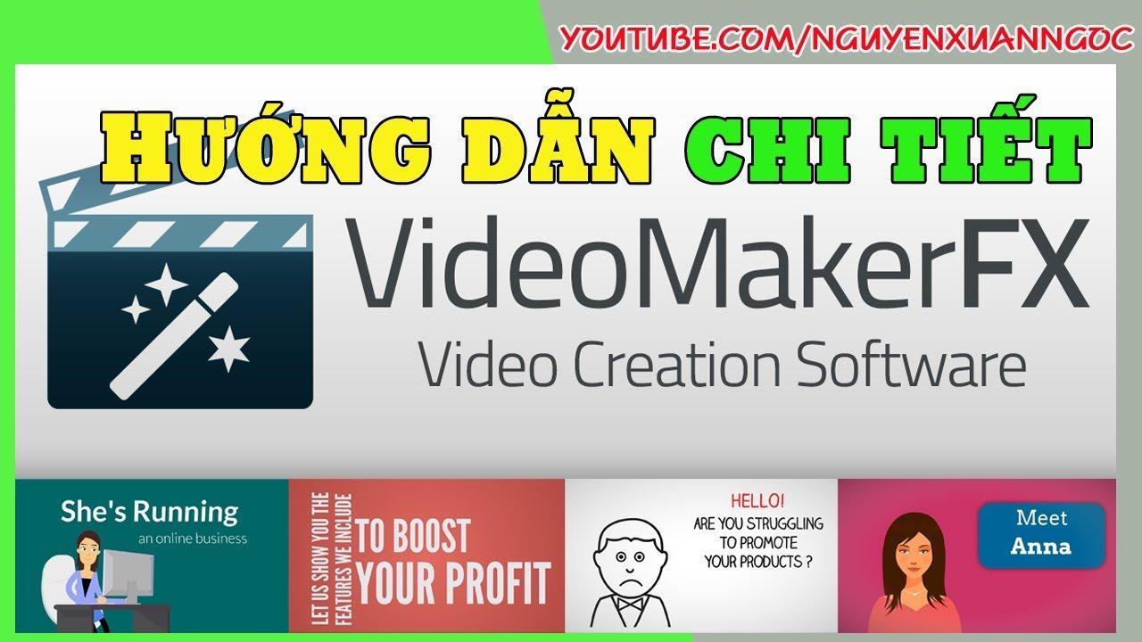 Phần mềm làm quảng cáo   Bài 4 Hướng dẫn tạo ra video quảng cáo bằng Video Maker FX