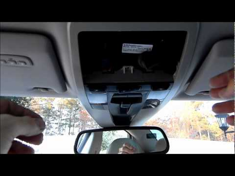 Volvo S40, Ceiling Console Removal - YouTube