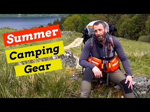 My Wildcamping Gear For Summer